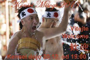 Misogi Kensei 2018 - obřadná očista dódžó, těla a mysli. Akce pouze pro členy Kensei a pro zvané hosty @ Kensei dódžó | Česká republika