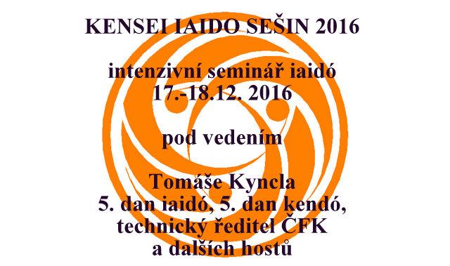 Kensei Iaido Sešin 2016