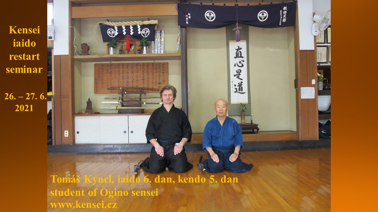 Kensei Iaido restart seminář 2021